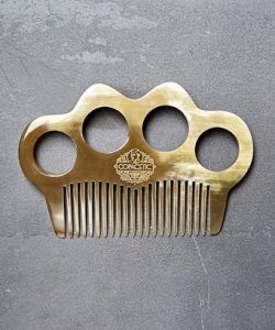 Ox Horn Knuckle Duster Beard Comb_Copacetic