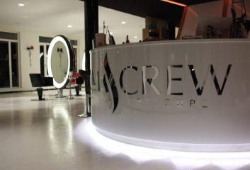 Frikos Friseureinrichtung M-Crew Friseure